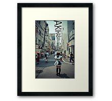 Akihabara - Electric Town Framed Print