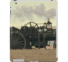 Steam Powered Ploughing Engine iPad Case/Skin