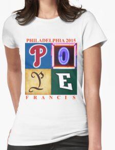 Pope Philadelphia Logo Square T-Shirt
