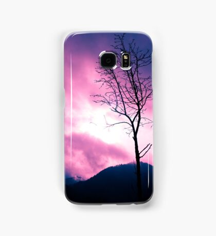 Into the Pink & Purple Sky - JUSTART © Samsung Galaxy Case/Skin