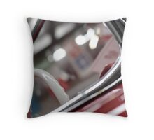 White Throw Pillow