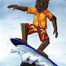 Surfing Tiki by Lee Twigger