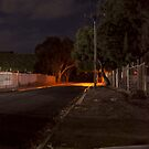 Nixon Road at night by MuscularTeeth