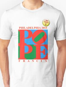 """Love Park Pope """"I Was There"""" T-Shirt"""