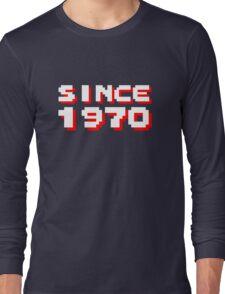SINCE 1970 Long Sleeve T-Shirt