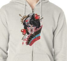 The Red Queen Zipped Hoodie