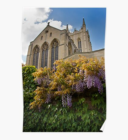 Cathedral Walls Poster