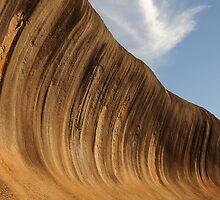 Wave Rock - Heydon WA Australia by Bev Woodman