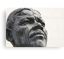 Nelson Mandela London Statue Canvas Print