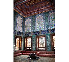 Turkey. Istanbul. Topkapi Palace. Harem. Apartments of crown prince. Photographic Print