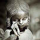Crying Angel by Karen Havenaar