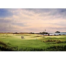 Turnberry Golf Course 12Th Tee Photographic Print