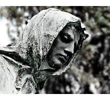 Hooded Man Photographic Print