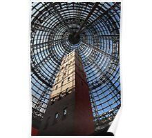 Melbourne Shot Tower - Arcade Poster
