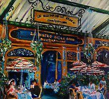 Le Bistro de la Gare, Montparnasse, Paris, France by andrassyp