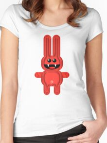 RABBITT 3 Women's Fitted Scoop T-Shirt