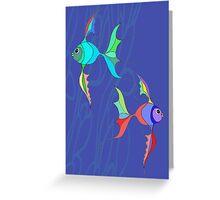 Two Fish Greeting Card