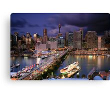 Dazzling Darling Harbour Canvas Print