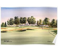 Oakmont Golf Course 14Th Green Poster