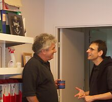 Ivan Matic and Miroslav Radman by MedILS
