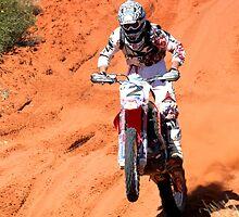 Bike 2 - Finke 2011 Day 2 by Centralian Images