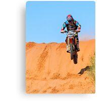 Bike 782 - Finke 2011 Day 2 Canvas Print