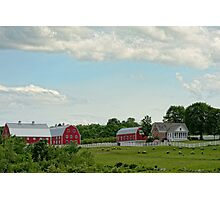 Rural Scene, New Gloucester, Maine Photographic Print