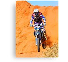 Bike 211 - Finke 2011 Day 2 Canvas Print