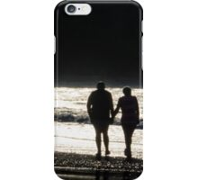 love on the beach, captured in cornwall iPhone Case/Skin