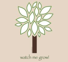 Watch Me Grow: Tree 1-18 by LTDesignStudio