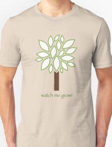 Watch Me Grow: Tree 1-18 Unisex T-Shirt