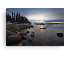The last Sunset of 2010 Canvas Print