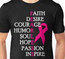 Fearless Breast Cancer Awareness Unisex T-Shirt