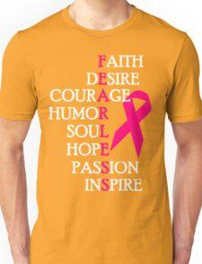 Fearless Breast Cancer Awareness Unisex T-Shirt