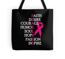 Fearless Breast Cancer Awareness Tote Bag