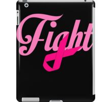 Fight Breast Cancer Awareness iPad Case/Skin