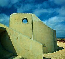 Sea walls  by AlanMartin