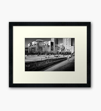curtis hixon park Framed Print