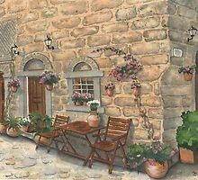 Grecian Charm by Marsha Elliott