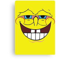 High Spongebob Canvas Print