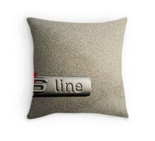 S-Line; Representing Power and Beauty Throw Pillow