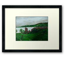 Urghart Castle, Loch Ness Framed Print