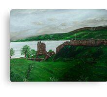 Urghart Castle, Loch Ness Canvas Print