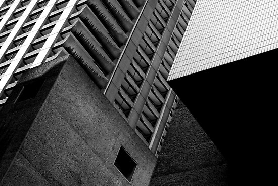 Concrete Cubism - Barbican by compoundeye