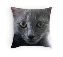 Ida Cat Throw Pillow