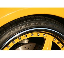 Ferrari 360 Spider Novetec Design  Photographic Print