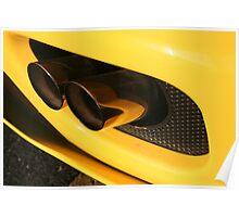 Ferrari 360 Spider Novetec Design - Exhaust Poster