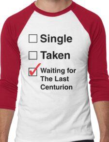 SINGLE TAKEN THE LAST CENTURION Men's Baseball ¾ T-Shirt