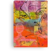 Feeling Alone and Invisible Canvas Print