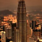 Kuala Lumpar Tilt Shift by Chris Cherry